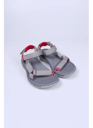 Female Project Gri-Gri Cırtlı Sandalet Gri